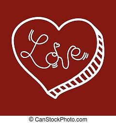 kärlek, affisch