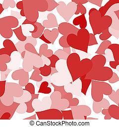 kärlek, visande, valentinkort, roman, papper, bakgrund, hjärtan