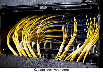 kablar, nätverk