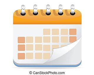 kalender, vektor