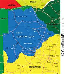 karta, botswana