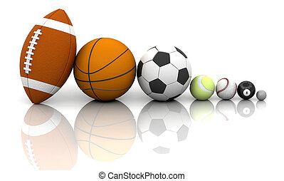 klumpa ihop sig, sports