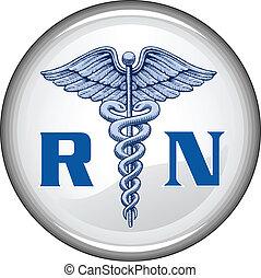 knapp, rekommenderat sjukskötare