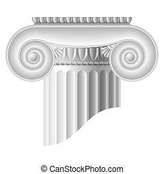 kolonn, jonisk