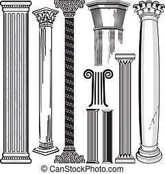 kolonn, kollektion