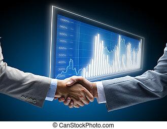 kommunikation, diagram, affär, bakgrund, begreppen, anställning, vänner, vänskapsmatch, gemensam, överenskommelse, vänskap, affärsman, chans, furu, svart, handel, början, röja, mörk, finans