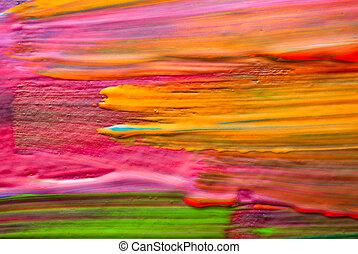 konst, abstrakt, bakgrund., backgrounds., själv, made., hand-painted