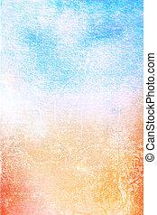 konst, background:, årgång, ram, vit, /, design, mönster, blå, papper, strukturerad, grunge, gul, struktur, gräns, abstrakt, röd, bakgrund.