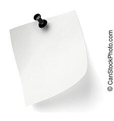 kontor, affär, anteckning tidning, stift, trycka