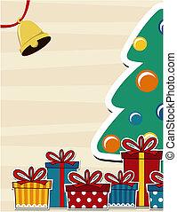 kort, jul, bakgrund