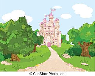 kulle, slott