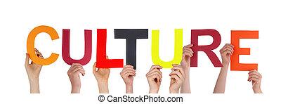 kultur, holdingen, folk