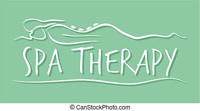 kurort, terapi, mall