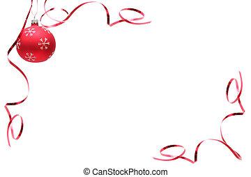 lök, jul, röd
