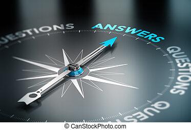 lösningar, konsultera, affär