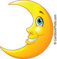 leende måne