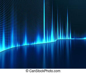 ljud, grafisk
