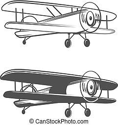 logo, airplane, plan