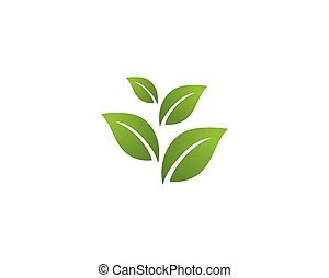 logo, ekologi, -, illustration, vectors