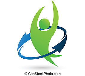 logo, hälsa, natur
