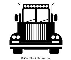 logo, lastbil