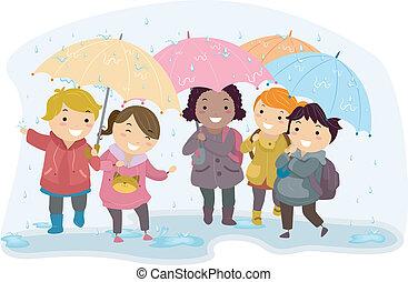 lurar, paraply
