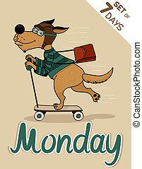 måndag
