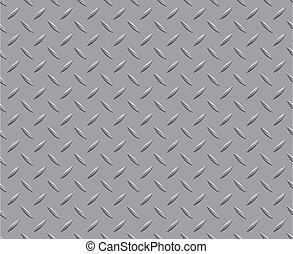 mönster, golv, struktur, metall, bakgrund, stål