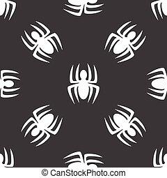 mönster, spindel