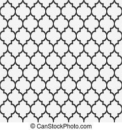 mönster, stil, seamless, islamitisk