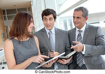 möte, sal, affärsverksamhet lag