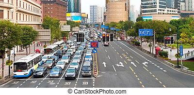 marmelad, shanghai, trafik