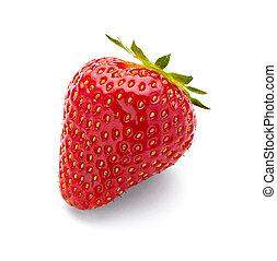 mat, jordgubbe, frukt