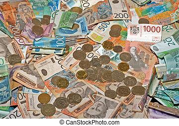 matställear, pengar
