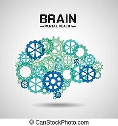 mental, design, hälsa