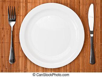 middag sätta, plats