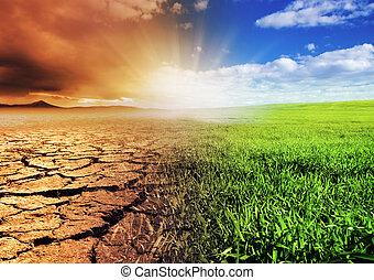 miljö, skiftande