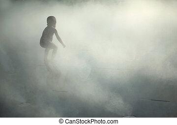 mist, unge