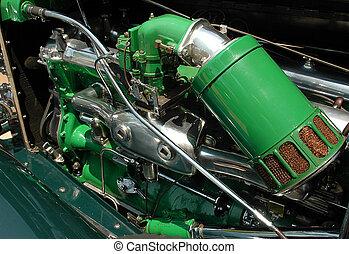 motor, årgång bil