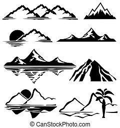 mountains, ikonen