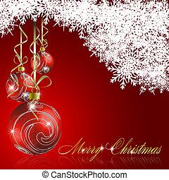 munter, abstrakt, jul, bakgrund