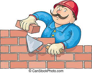 murare, arbete