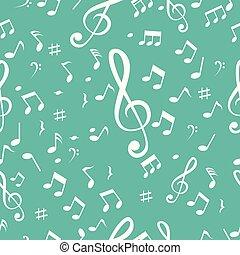musik, seamless, bakgrund