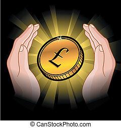 mynt, räcker