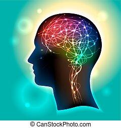 neurons, hjärna