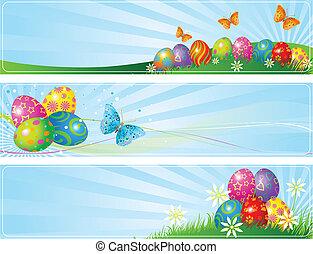 olik, påsk, baner