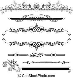 ornamental, horisontal