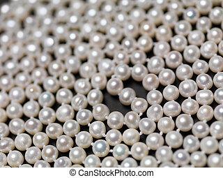 pärla, pärlhalsband, abstrakt, bakgrund