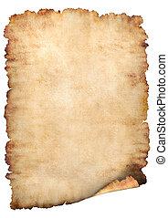 papper, pergament, bakgrund