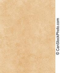 papper, pergament